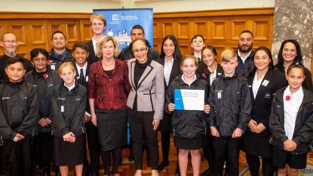 Pātea Area School wins UNESCO award for growing global citizens