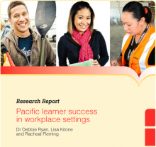 Pacific Learner Success in Workplace Settings